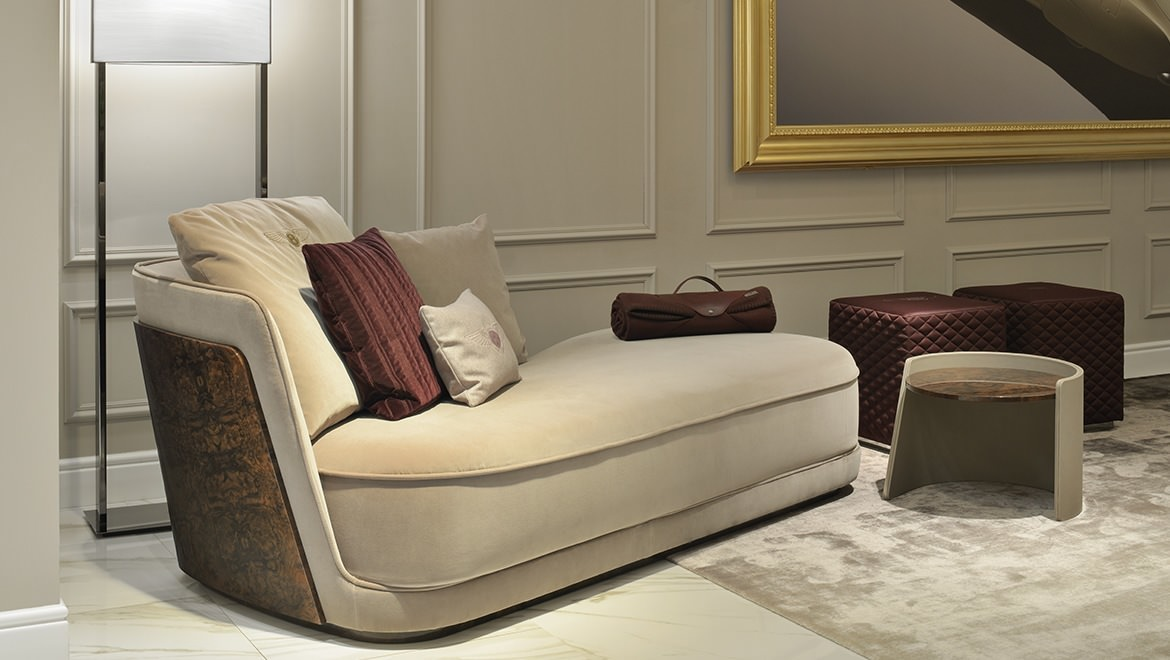 Оттоманка Richmond Chaise дизайн Bentley Home