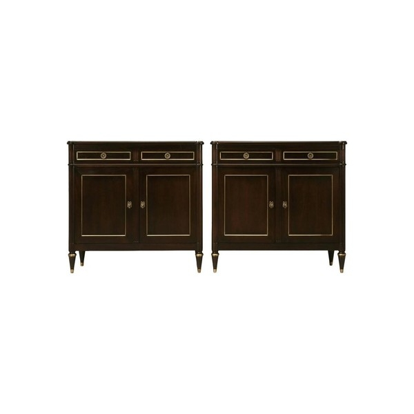 Буфет Louis XVI Style Buffets in an Ebonized Mahogany