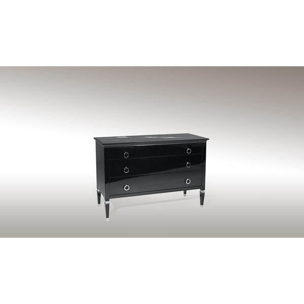 Комод REGENCY CHEST OF DRAWERS BLACK