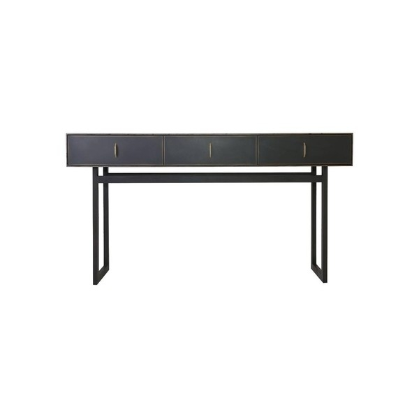 Консоль Gotham Console Table in Customizable Wood, Metal and Resinbl