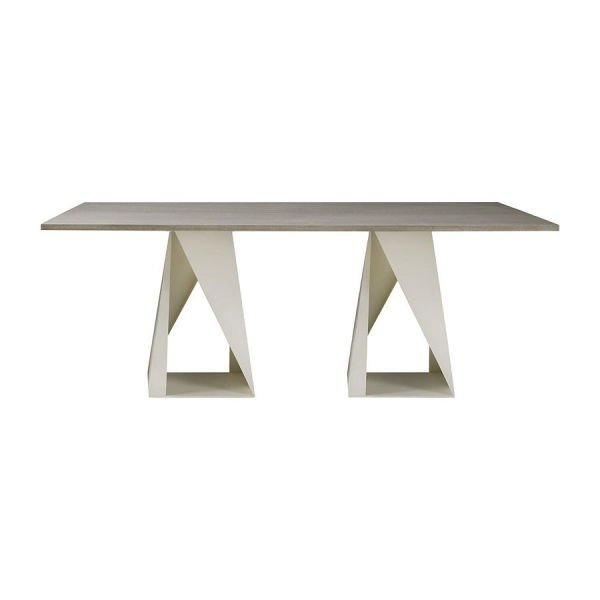 Стол обеденный FOLD RECTANGLE DINING TABLE (82), дизайн Baker, дизайнер Darryl Carter