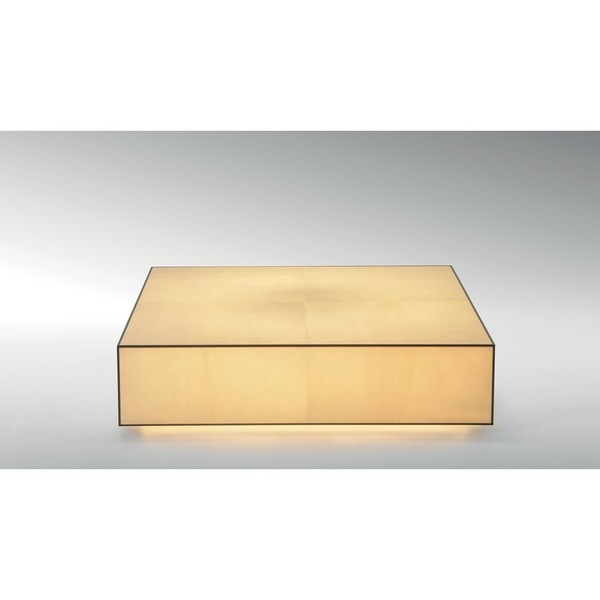 Стол журнальный Quadrum Goatskin Coffee Table, дизайн Fendi Casa