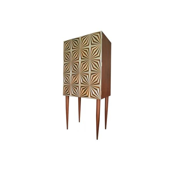 Высокий комод Illusions Tall Drinks Cabinet by Violeta Galan