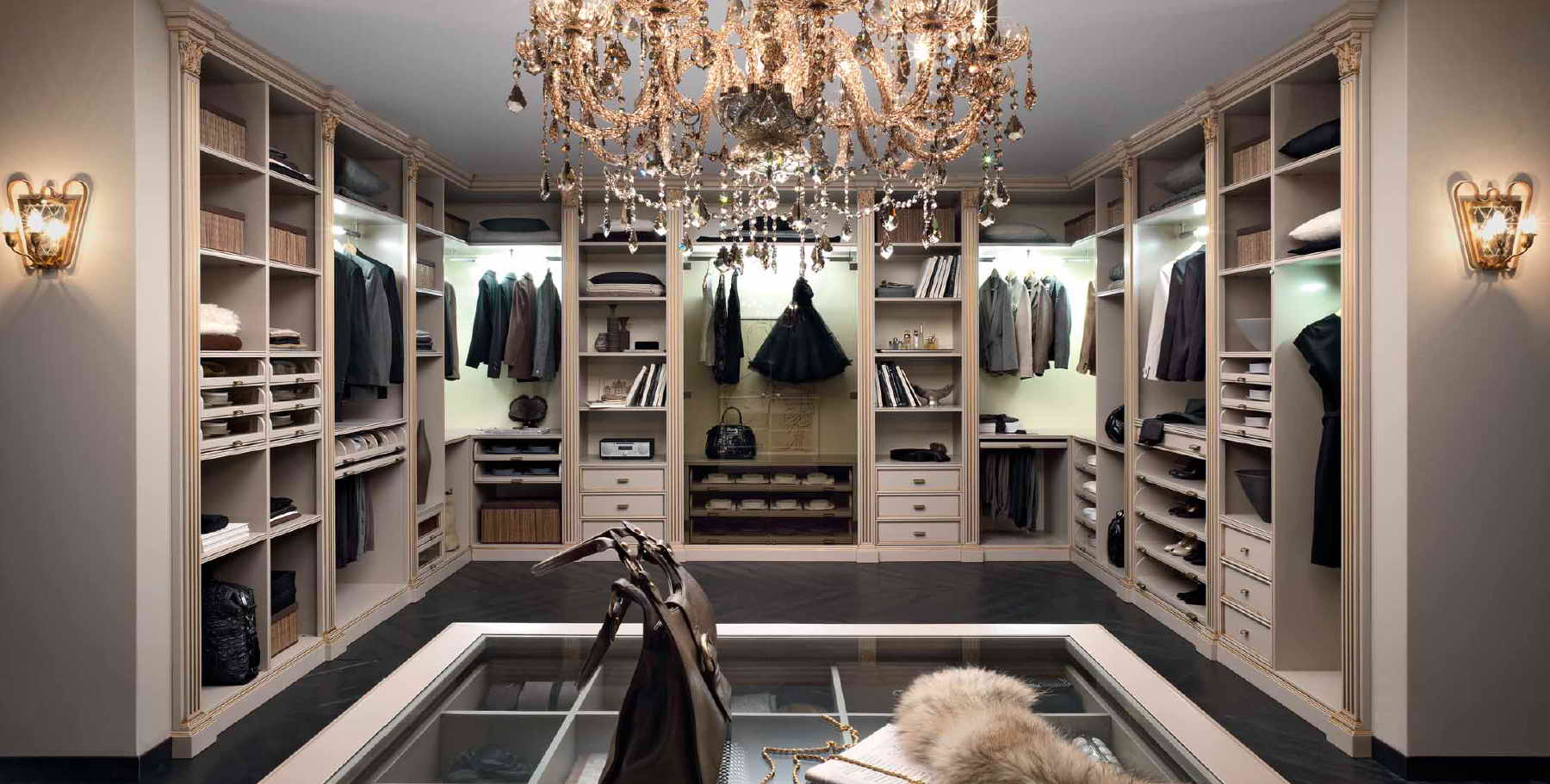 Гардеробная комната, дизайн FM Bottega d Arte Palladio ...
