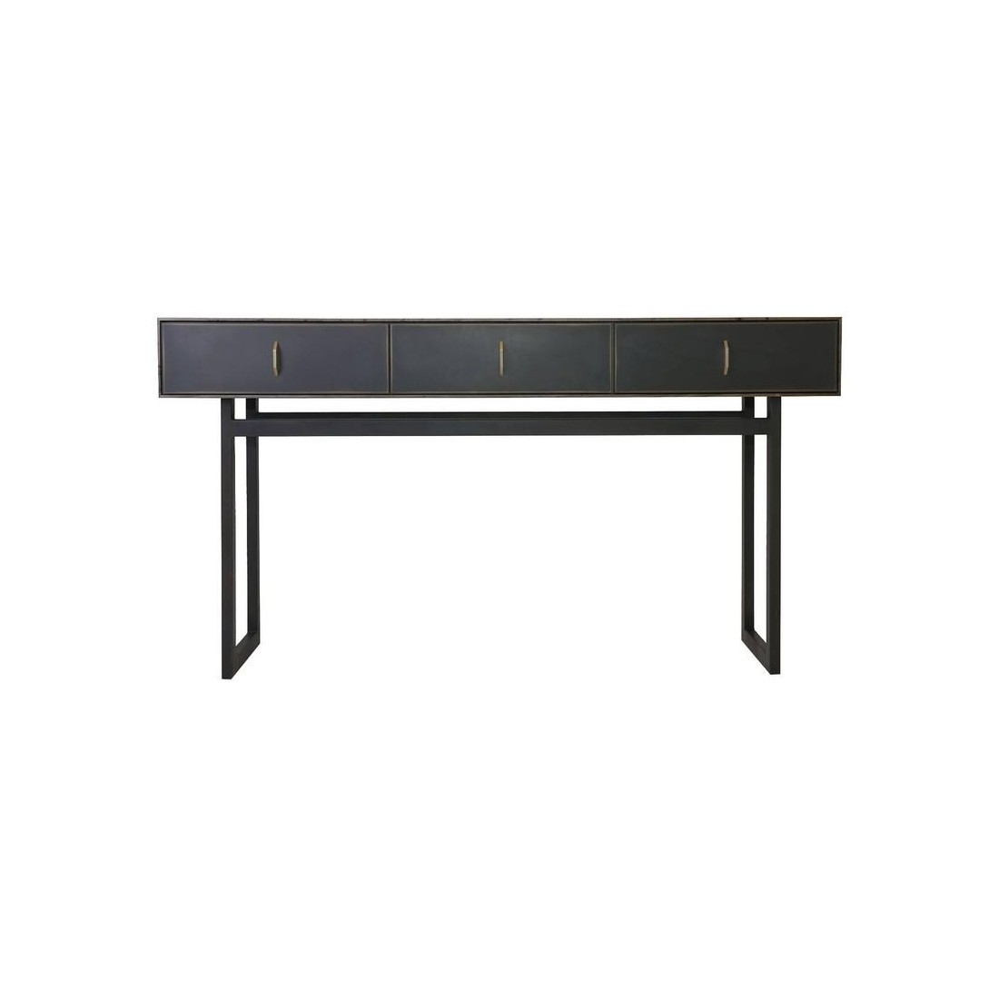 Konsol Gotham Console Table In Customizable Wood Metal And Resinbl