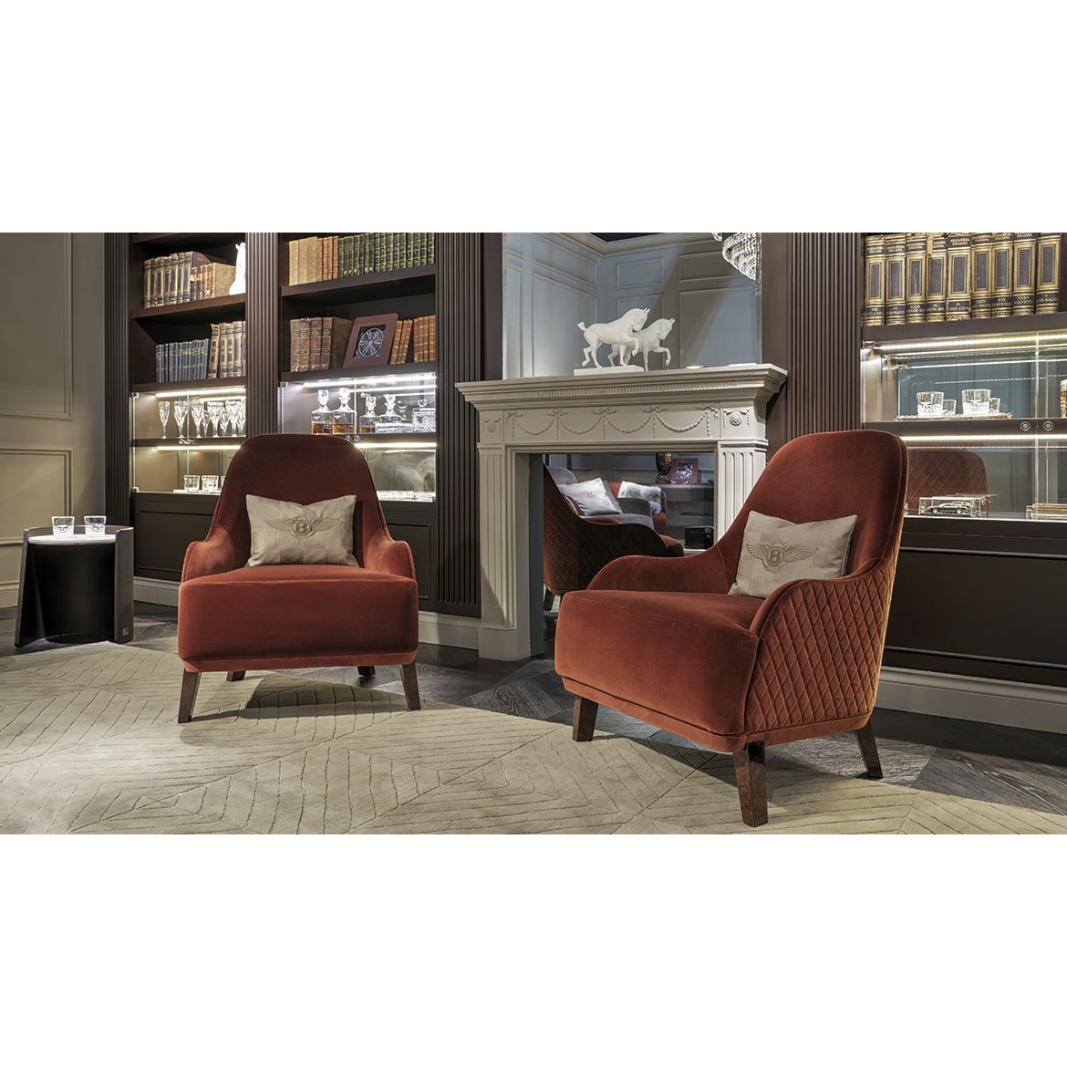 Кресло Roseberry Armchair, дизайн Bentley Home