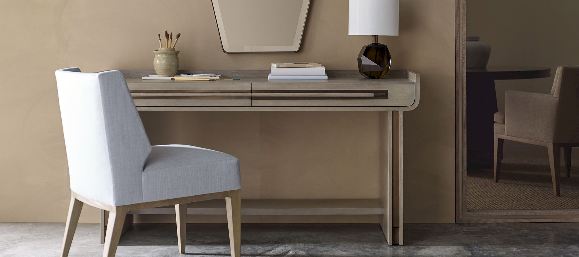 Стол письменный DISTINCT DESK, дизайн Baker, дизайнер Barbara Barry