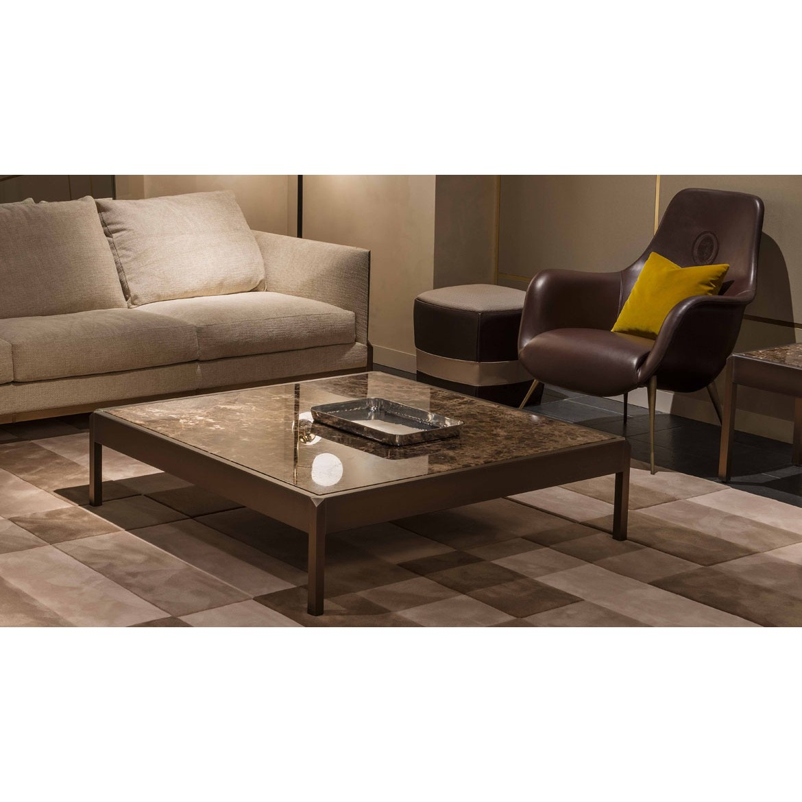 Стол журнальный Band Coffee and Side Tables 2, дизайн Trussardi Casa
